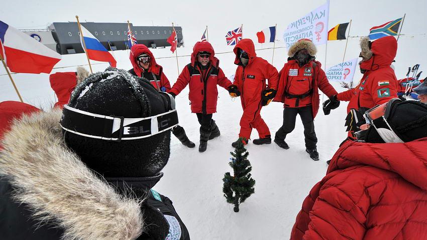 туризм на северном и южном полюсах